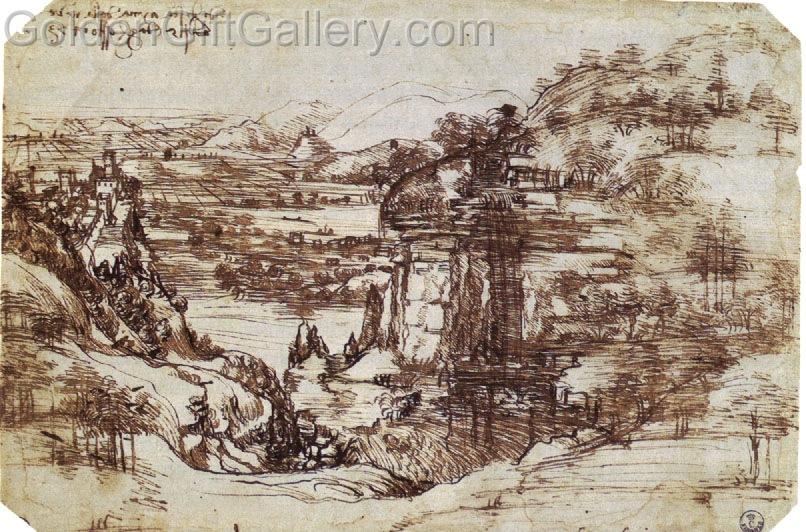 تصویری که از آن بهعنوان نخستین نقاشی داوینچی یاد میشود