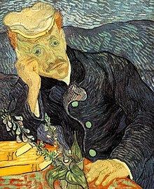 پرترهٔ دکتر گاشه، ونسان این اثر را در آخرین سال زندگی خود خلق کرد، ۱۸۹۰
